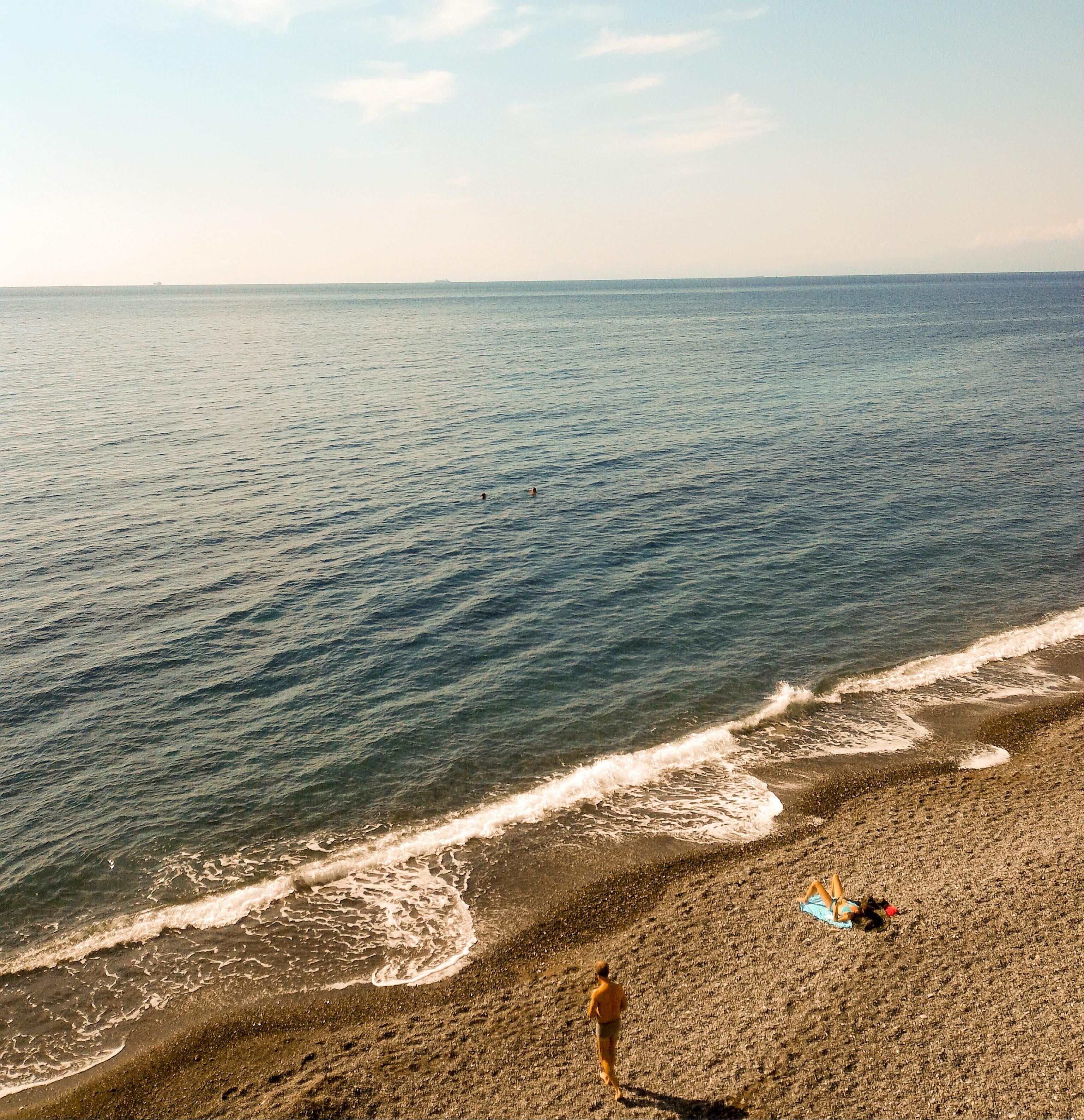 liguria tenger ősszel