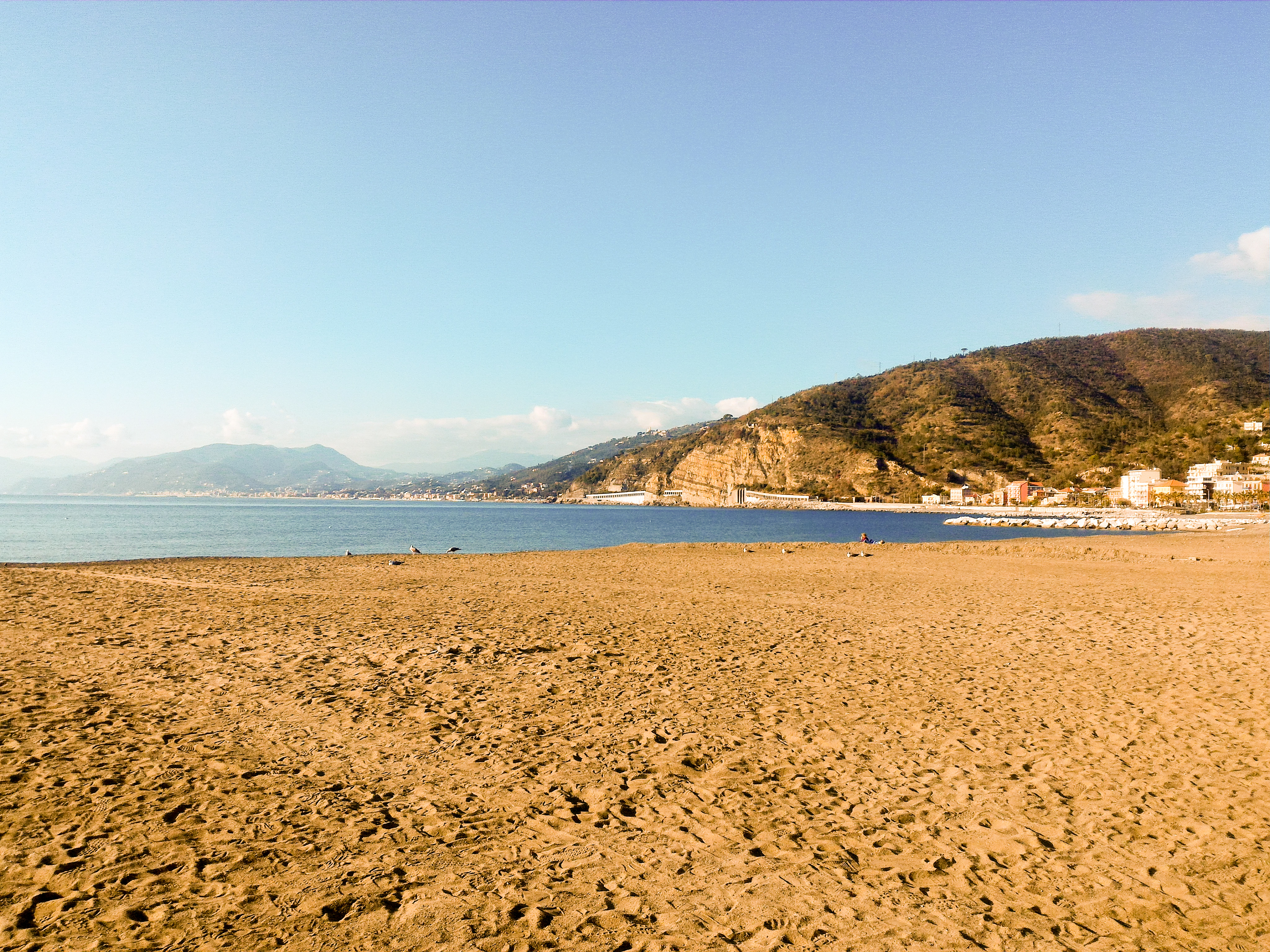 sestri levante tengerpart strand